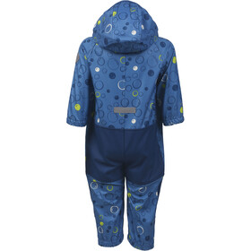 Color Kids Tajo Mini Softshell Coverall Kinder jeans blue